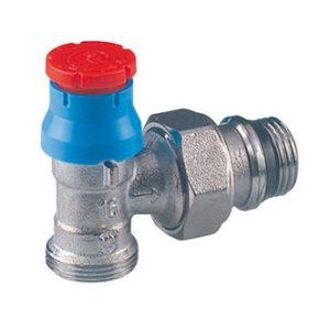 """Клапан термостатический угловой РР 1/2""""x16 (без преднастр.) R411X033 GIACOMINI"""